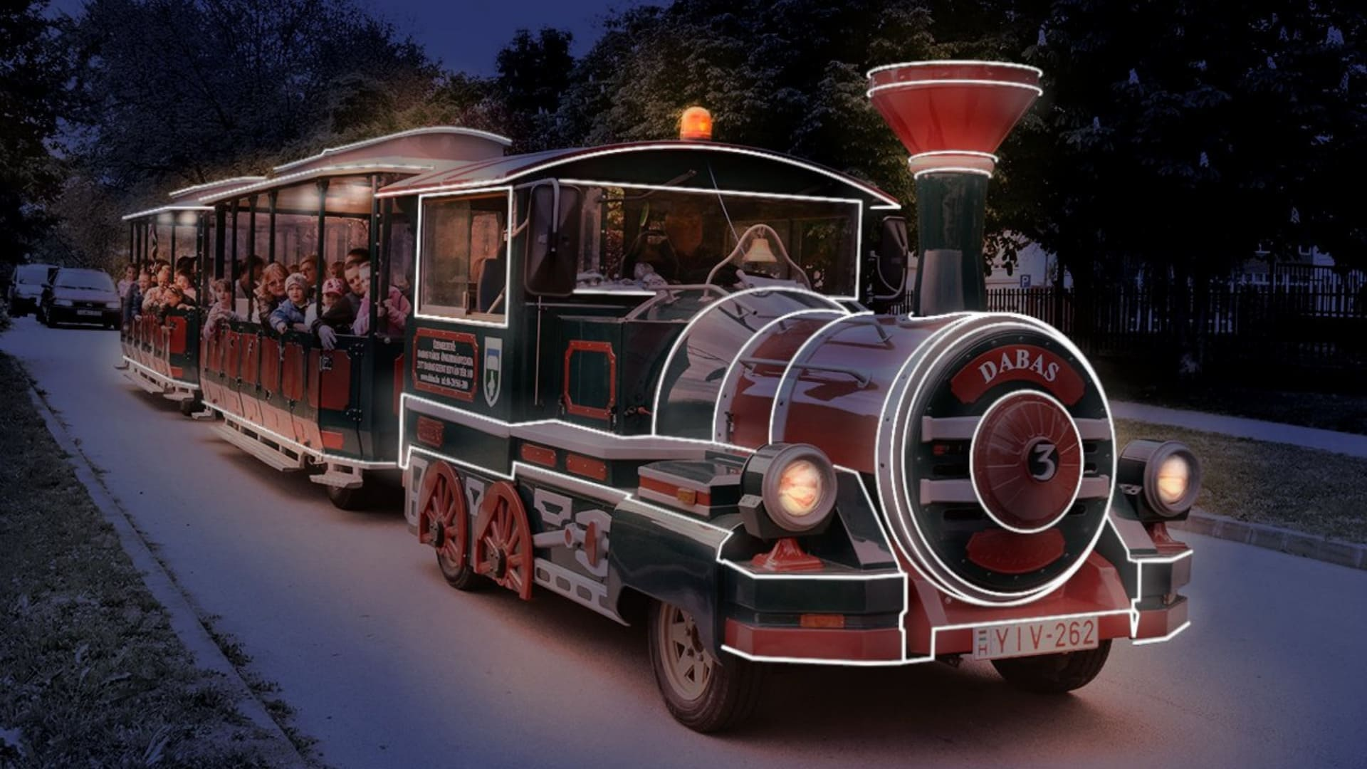 Jármű fénydekoráció Glansya slider